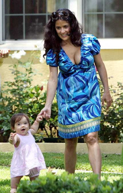 salma hayek and valentina