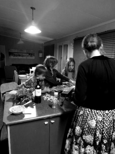 h dinner preparation