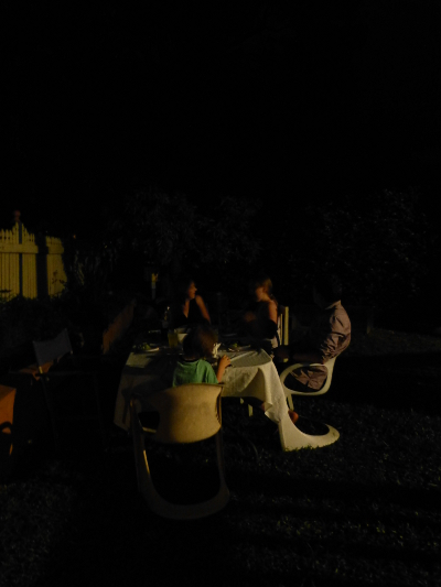 ii garden dinner